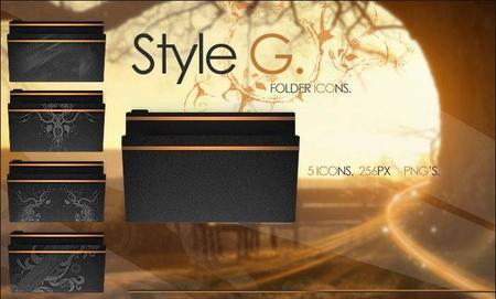 Style G - Folder icons