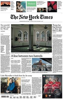 International New York Times - November 4-5, 2017