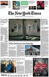 International New York Times - November 4-5, 2017