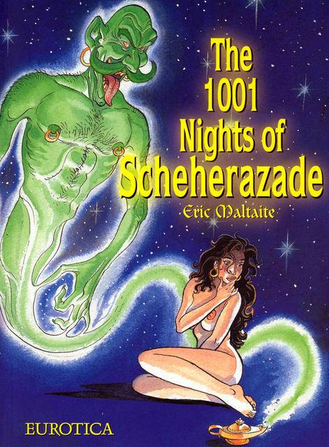 [Erotic Comic] The 1001 Nights of Scheherazade