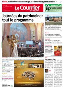 Le Courrier de l'Ouest Cholet – 21 septembre 2019