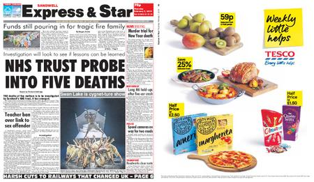 Express and Star Sandwell Edition – February 07, 2019