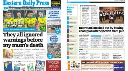 Eastern Daily Press – January 21, 2020