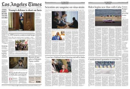 Los Angeles Times – February 13, 2021