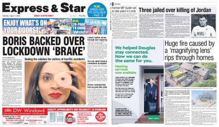 Express and Star Dudley and Wyre Forest Edition – August 01, 2020