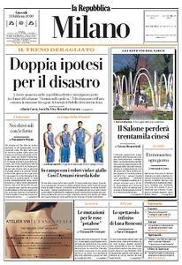 la Repubblica Milano - 13 Febbraio 2020
