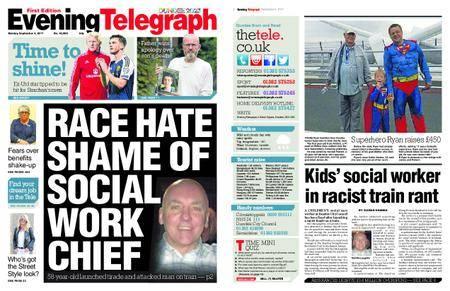 Evening Telegraph First Edition – September 04, 2017