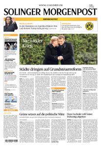 Solinger Morgenpost – 12. November 2018