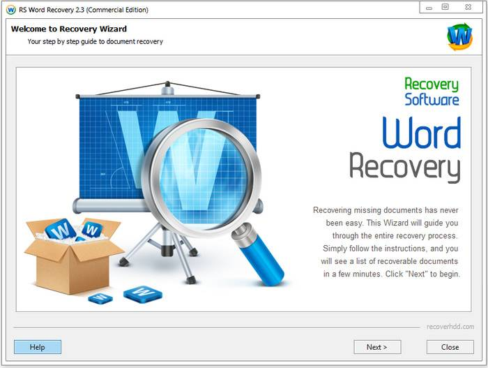 RS Word Recovery 2.6 Multilingual