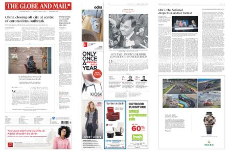 The Globe and Mail – January 23, 2020