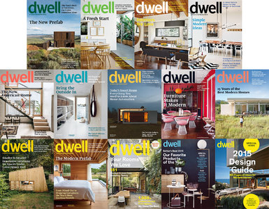 Dwell - 2015 Full Year Issues Collection
