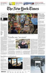 International New York Times - 9 March 2020