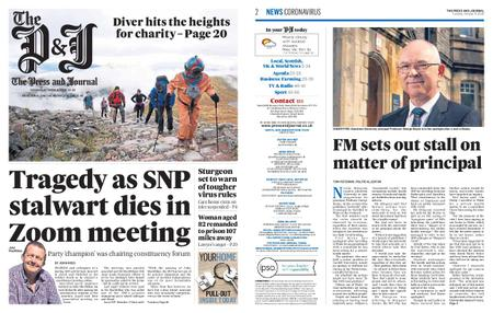 The Press and Journal Moray – October 06, 2020