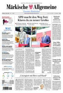 Märkische Allgemeine Zossener Rundschau - 05. März 2018