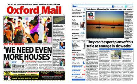 Oxford Mail – August 07, 2018