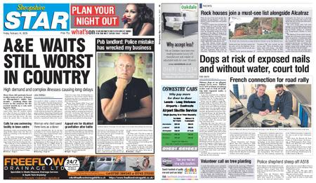 Shropshire Star Shrewsbury Edition – February 14, 2020