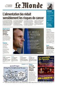 Le Monde du Mercredi 24 Octobre 2018