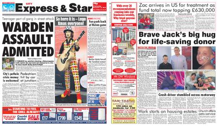 Express and Star City Edition – November 14, 2018