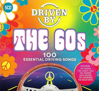 VA - Driven By The 60s (5CD, 2019)