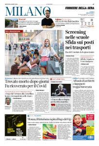 Corriere della Sera Milano – 06 agosto 2020