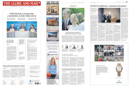 The Globe and Mail – March 12, 2020