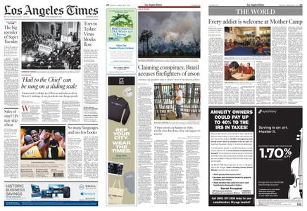 Los Angeles Times – February 17, 2020