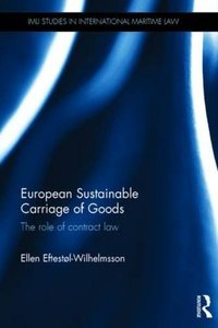 European Sustainable Carriage of Goods: The Role of Contract Law