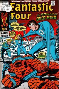 Fantastic Four 115 HD Oct 1971