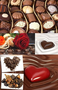 Chocolate and chocolate candies