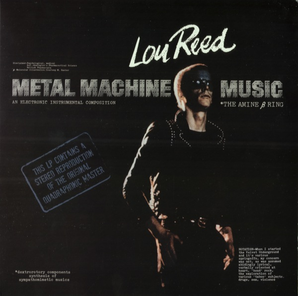 Lou Reed – Metal Machine Music [The Amine β Ring] (2011) 24-bit 96kHZ vinyl rip and redbook