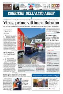 Corriere dell'Alto Adige - 13 Marzo 2020