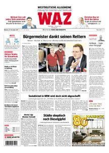 WAZ Westdeutsche Allgemeine Zeitung Oberhausen-Sterkrade - 29. November 2017