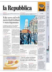 la Repubblica - 18 Dicembre 2017
