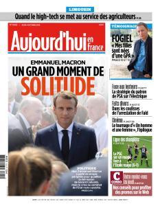 Aujourd'hui en France du Jeudi 4 Octobre 2018