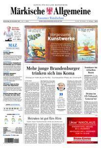 Märkische Allgemeine Zossener Rundschau - 30. November 2017