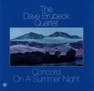 The Dave Brubeck Quartet - Concord On A Summer Night (1982) [Reissue 2003]