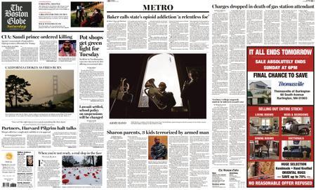 The Boston Globe – November 17, 2018