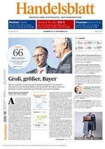 Handelsblatt - 15. September 2016