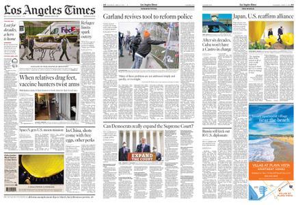 Los Angeles Times – April 17, 2021