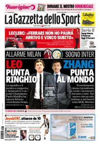 La Gazzetta dello Sport Roma – 27 ottobre 2018