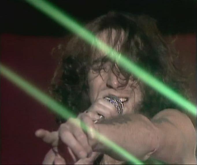AC/DC - Bon Scott's last video 1980
