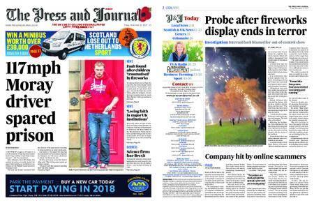 The Press and Journal Moray – November 10, 2017