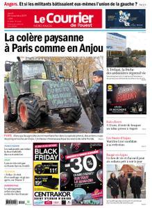 Le Courrier de l'Ouest Nord Anjou – 28 novembre 2019