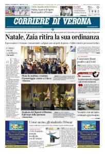 Corriere di Verona – 20 dicembre 2020