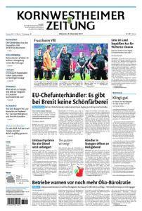 Kornwestheimer Zeitung - 20. Dezember 2017