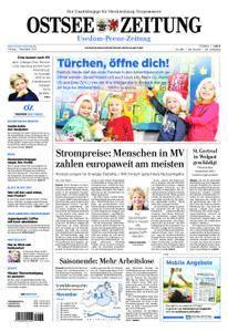 Ostsee Zeitung Wolgast - 01. Dezember 2017