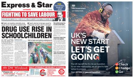 Express and Star Staffordshire Edition – July 13, 2020