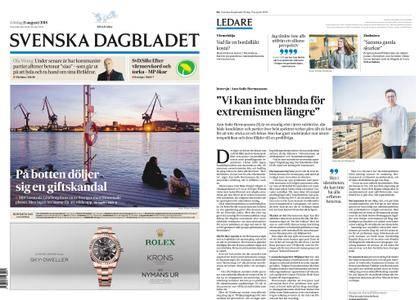 Svenska Dagbladet – 11 augusti 2018