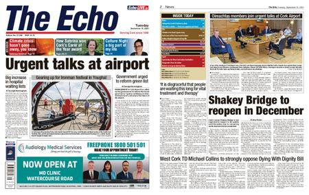 Evening Echo – September 15, 2020