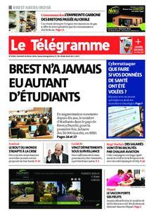 Le Télégramme Brest Abers Iroise – 26 février 2021
